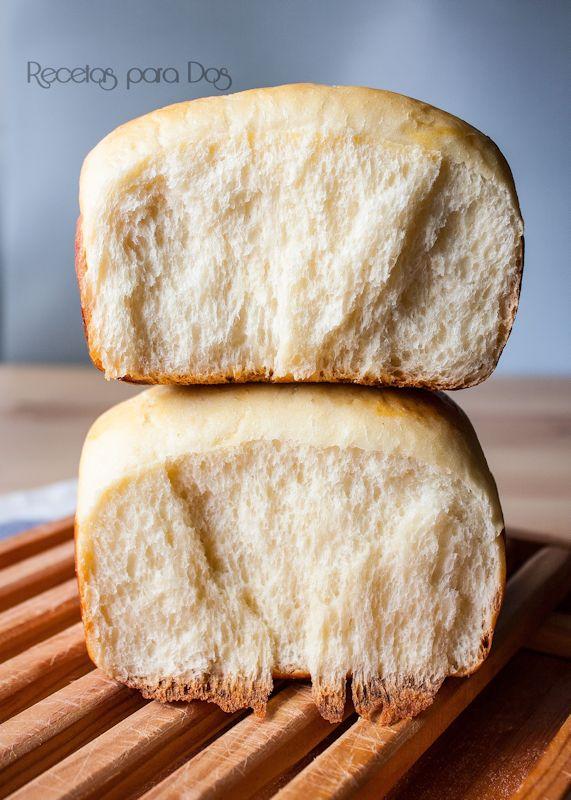 Pan leche japonés corte