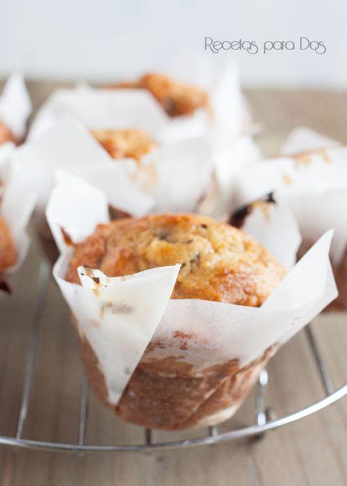 Muffins avena y platano