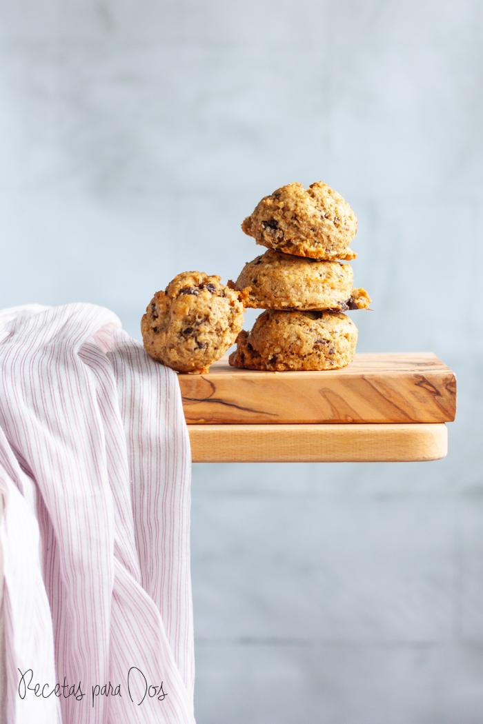 Galletas de avena y mantequilla de cacahuete